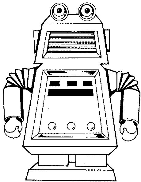 17 Best images about Robot colouring