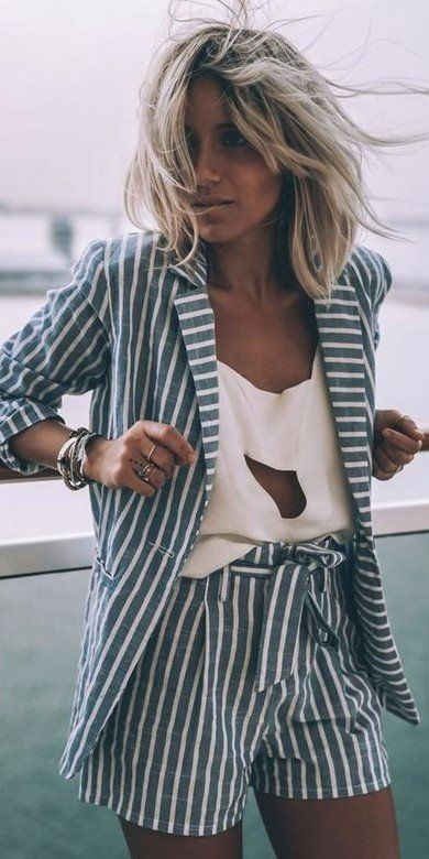 Stripped suit perfection