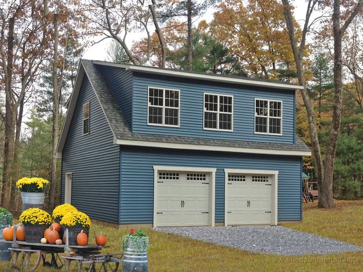 Legacy 2 Story Single Car Garage Photo Gallery