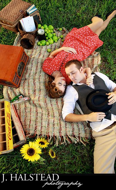 40's theme picnic.. what i want to do for our shoot