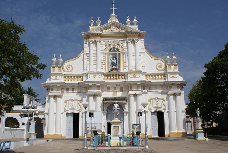 From Wikiwand: Immaculate Conception Cathedral, Pondicherry