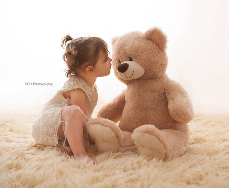 Image result for teddy bear and kids