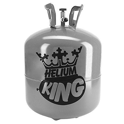 Helium King Large Gas Cylinder - Fills 50 Balloons