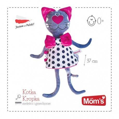 """Dzisiaj z """"kropką"""" - Piątek, piąteczek, piątunio ... Uwielbiamy:)  Miła Kotka Kropka od Hencz Toys może być pierwszą przytulanką dla maluszka już od pierwszych dni.  Kotka Kropka ma długie ręce i nogi aby bez żadnego problemu dziecko mogło za nie chwycić.  Kropka ma jeszcze kila zalet:) Sprawdźcie sami:)  Miłego Weekendu:)  http://www.niczchin.pl/przytulanki-dla-niemowlat/3400-hencz-963-przytulanka-kotka-kropka.html  #zabawkihencz #hencztoys #przytulanka #kotkakropka #niczchin"""
