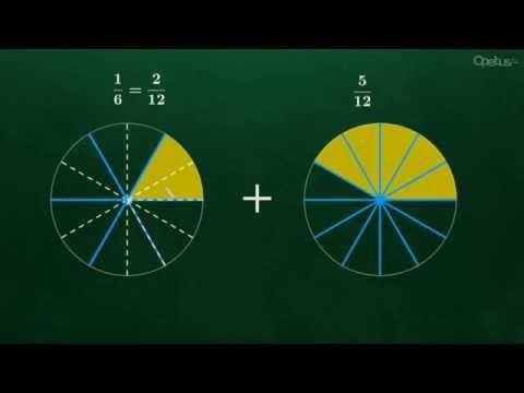 Murtolukujen yhteen- ja vähennyslasku - YouTube