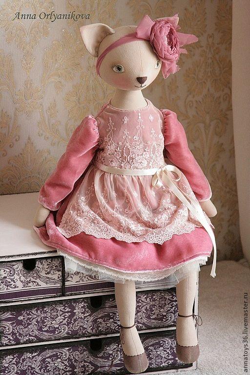 Rosette - розовый,кукла ручной работы,авторская работа,авторская кукла