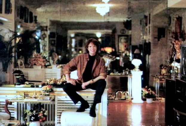 Camilo Sesto en su casa Madrid, años 2000