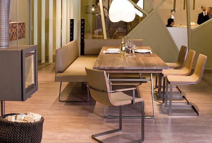 Esszimmer (Voglauer Möbel) Esstisch mit Massivholzplatte - kleiner tisch küche