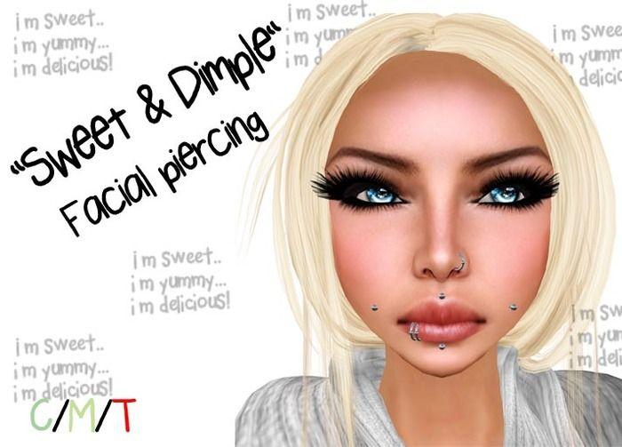 ::ED:: Sweet & dimple Facial piercing