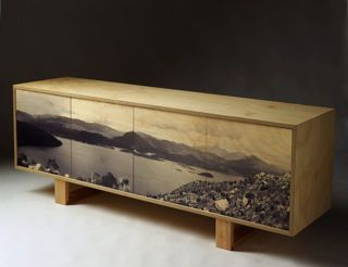 Lake Burbury cabinet | Touching space - furniture - from Tassie!