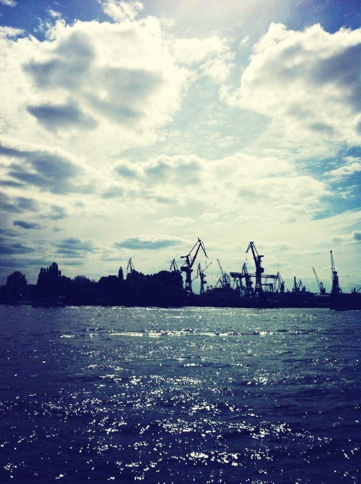 Hamburg Landungsbrücken.
