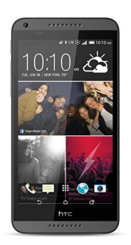 Htc Desire 816 Black (Virgin Mobile) - 5.5 Inch S-Lcd Display, 2015 Amazon Top Rated No-Contract Cell Phones #Wireless