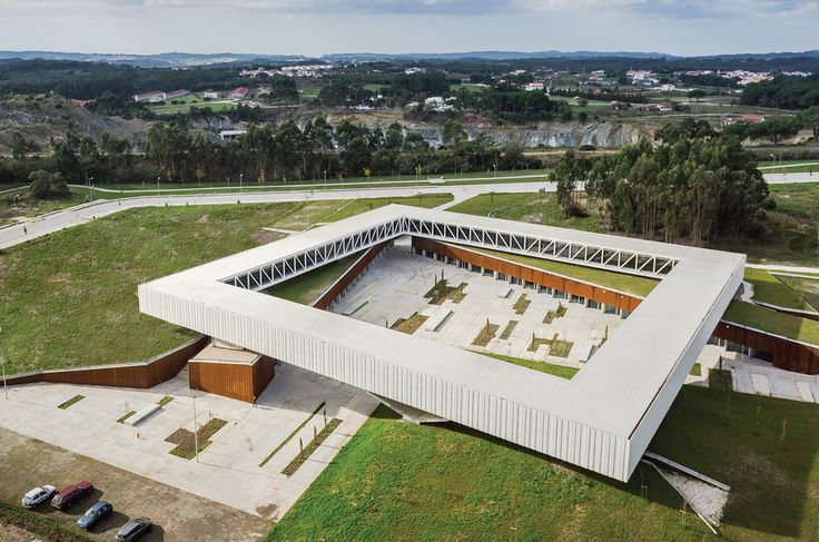 Óbidos Technological Park Main Building | Architect Magazine | Jorge Mealha Arquitecto, Óbidos, Portugal, Office, Retail, New Construction, Office Projects, Retail Projects, Jorge Mealha