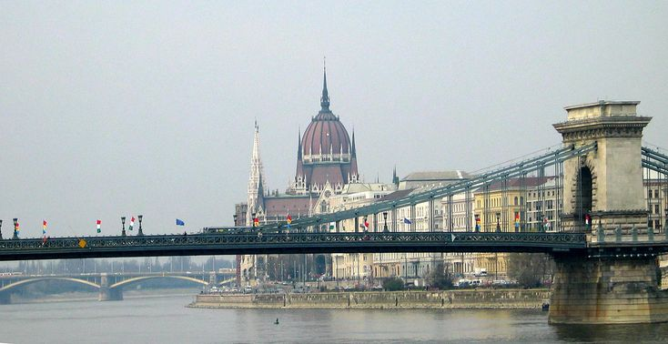 Budapest  - April 2003 - Danube Waterfront | by gareth1953 Cataract Creating Chaos