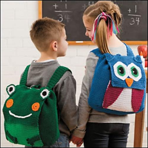 Ravelry: Animal Backpacks pattern by Jennifer Cirka Jaybird Designs