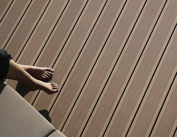 Barefoot Friendly Wood Composite Flooring Ecological Cost