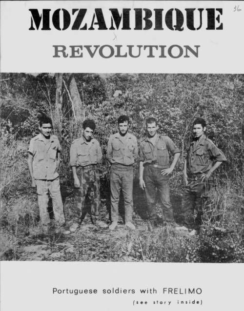 Page 1 :: Mozambican revolution, no. 36, Oct.-Dec. 1968 :: Emerging Nationalism in Portuguese Africa, 1959-1965. http://digitallibrary.usc.edu/cdm/ref/collection/p15799coll60/id/1618