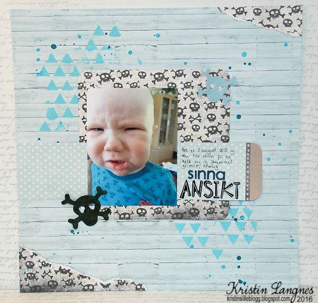 Kristins lille blogg: Sinna ansikt