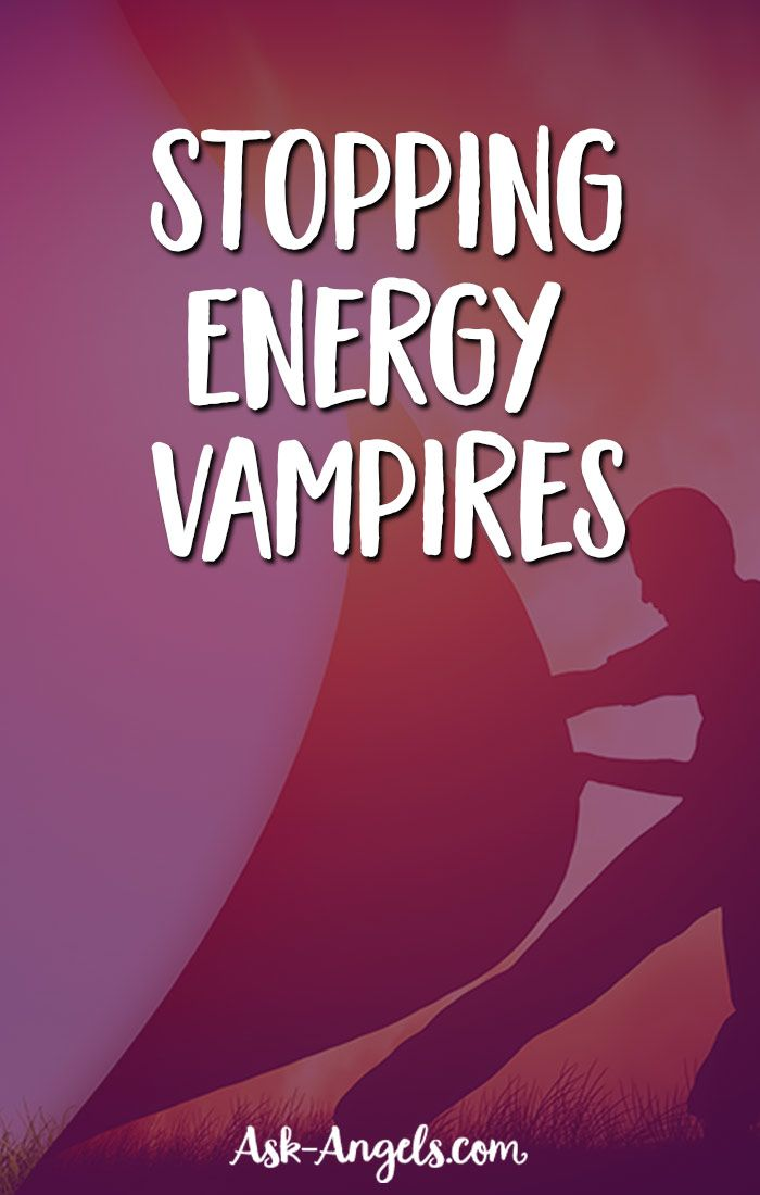 Stop Energy Vampires... With Light!