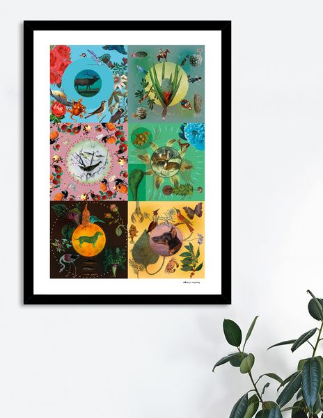 Discover «it's mostly nature», Limited Edition Fine Art Print by Dorus  Verwiel…