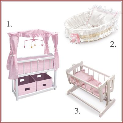 Crib, or cradle which would your little angel