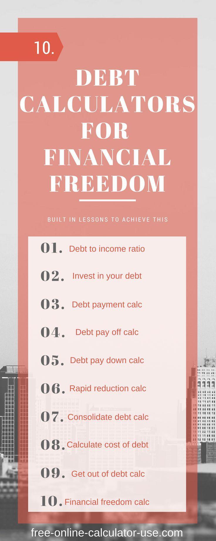 online debt reduction calculator
