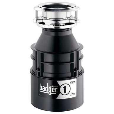 Although the InSinkErator Badger 1 is more economical, it still has all the benefits and features that make InSinkErator a trusted household name