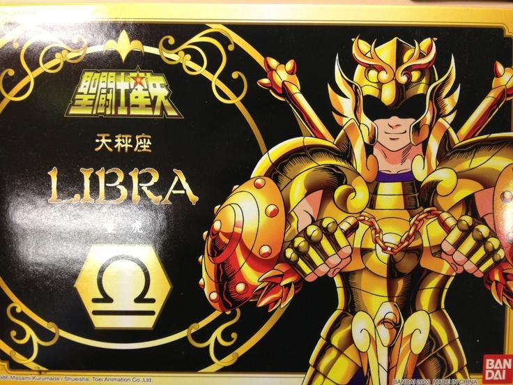 No. 3 聖鬥士星矢,黃金聖衣,天秤座。