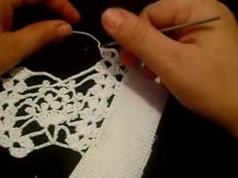 puntilla en crochet #7 para donacion