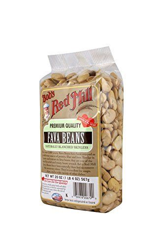 Bob's Red Mill Fava Beans may be familiar to you as their alias, broad beans. These hearty beans have a lovely buttery texture and nutty flavor. We have blanched the beans to remov
