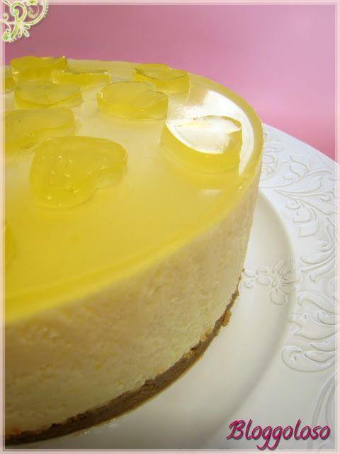 Bloggoloso: Torta fredda al limone