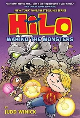 Hilo-and-his-friends-learn-more-about-Hilos-past-while-they-battle-robots-that-were-buried-underground-on-Earth.