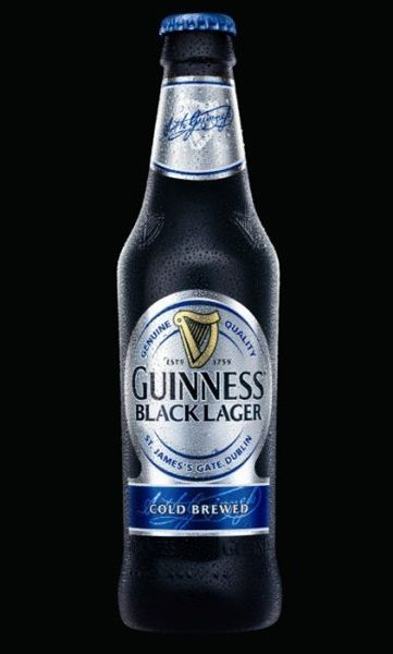 Guinness Black Lager (SHANE'S RATING: 4 out of 5)