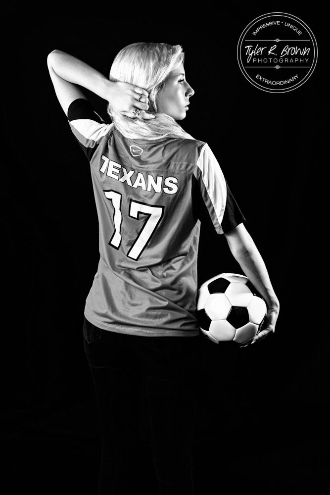 Senior Pictures - Mikenzie Foust - Soccer - Class of 2016 - T-Shirt Dress - Senior Photographer - Dallas, Texas - DFW - Senior Pics - Sunny - Summer - Ideas for Friends - Photography - Independence High School - Studio - Dallas Photographer - Sunset - Frisco Seniors - Tyler R. Brown Photography