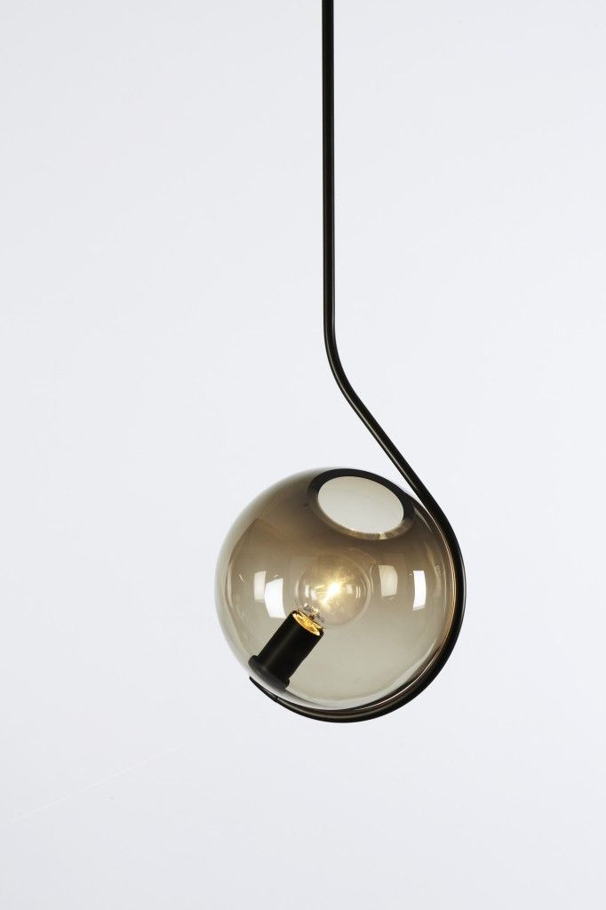 Roll&Hill's new 2014 collection unveiled during #ICFF. Fiddlehead pendant by…