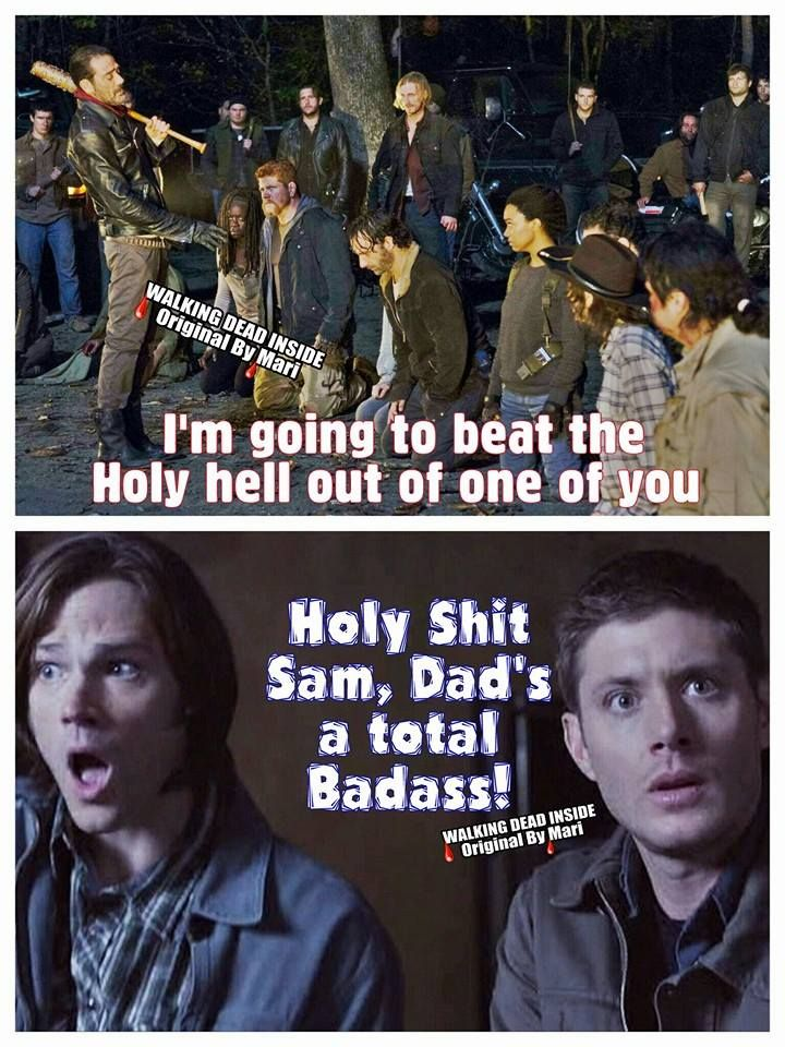 Too funny - but only if you are a fan of both TWD AND Supernatural