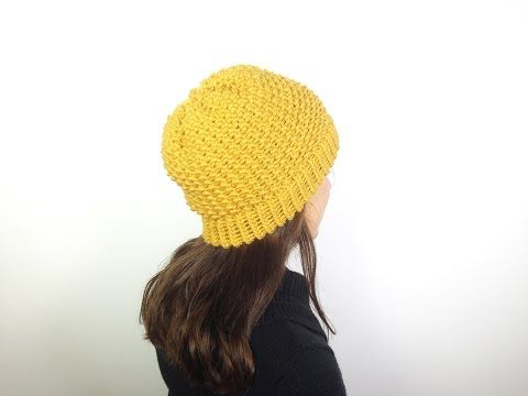 M How to Loom Knit a Hat in Seed Stitch (DIY Tutorial) - YouTube