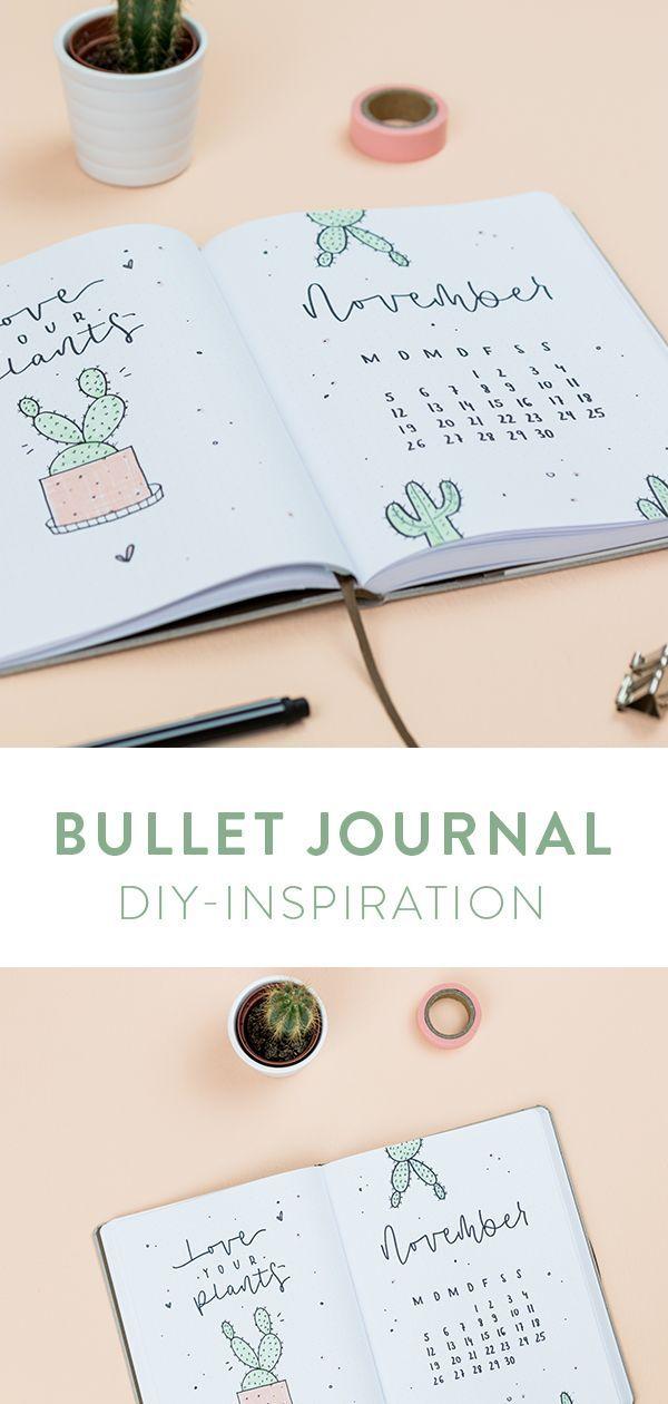 Bullet Journal – gestalte dein Notizbuch!