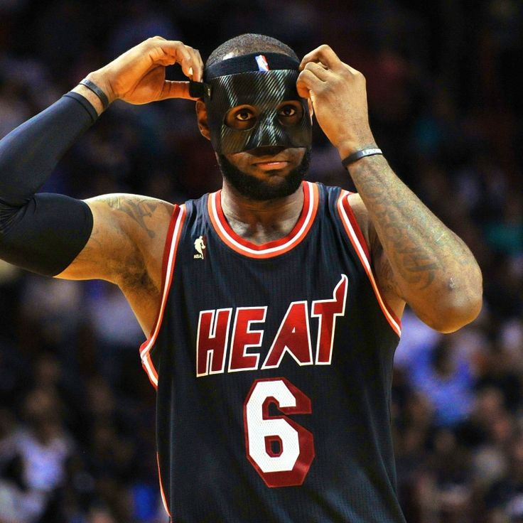 NBA Tells LeBron to Wear Clear Mask. Truth be told, I liked it!