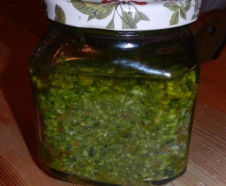 Rezept Bärlauchpesto vegan von Peace Food - Rezept der Kategorie Saucen/Dips/Brotaufstriche