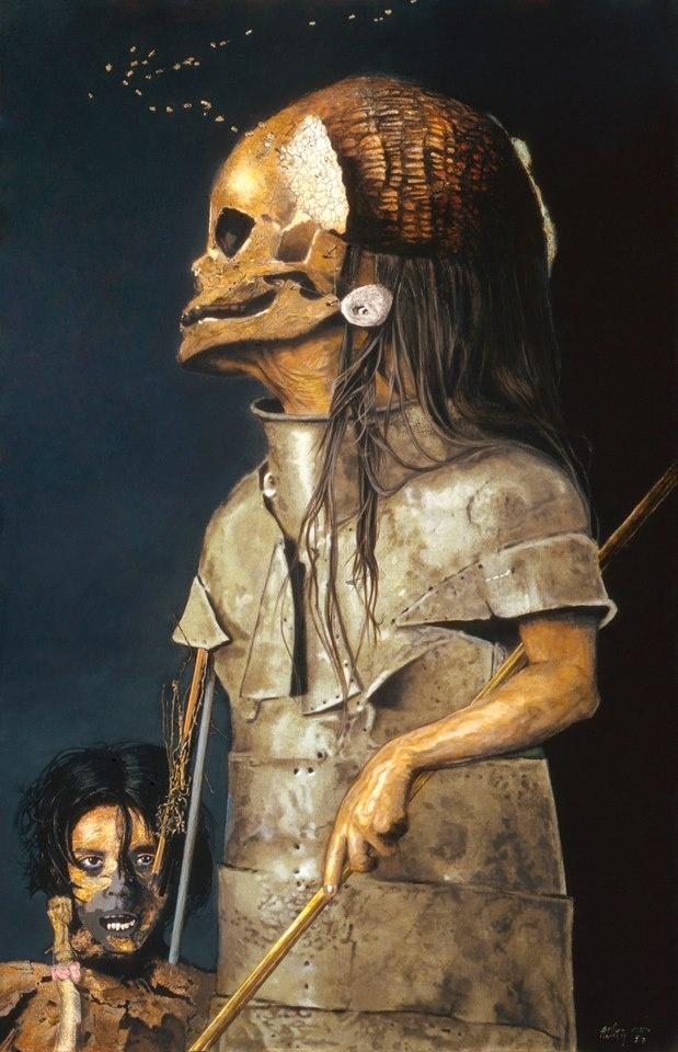 Arturo Rivera , 1945 Pintor mexicano