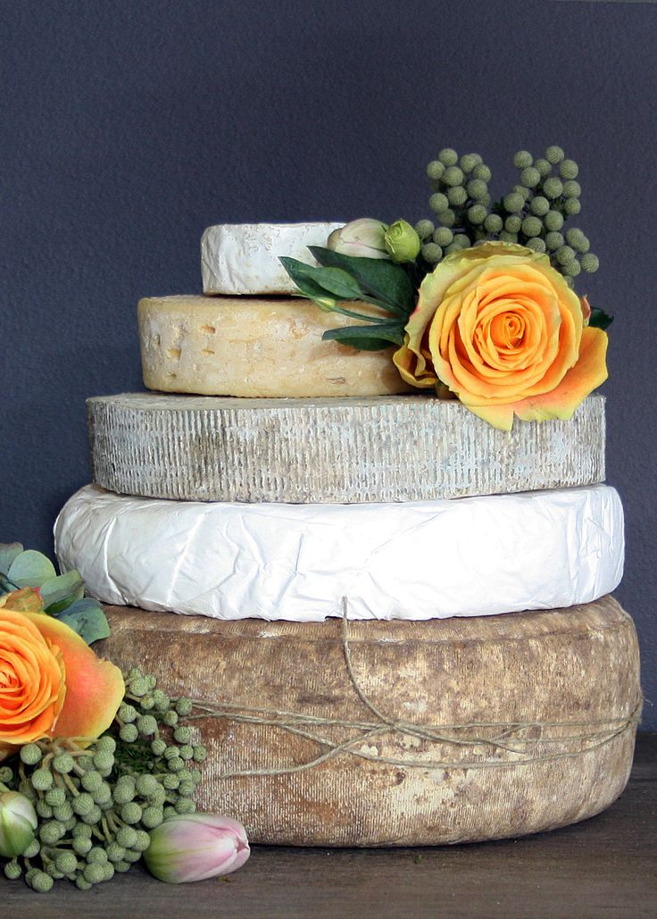 Cheese Tower. Great addition or alternative to a wedding cake. Perfect way to finish off the evening with a glass or two of port.