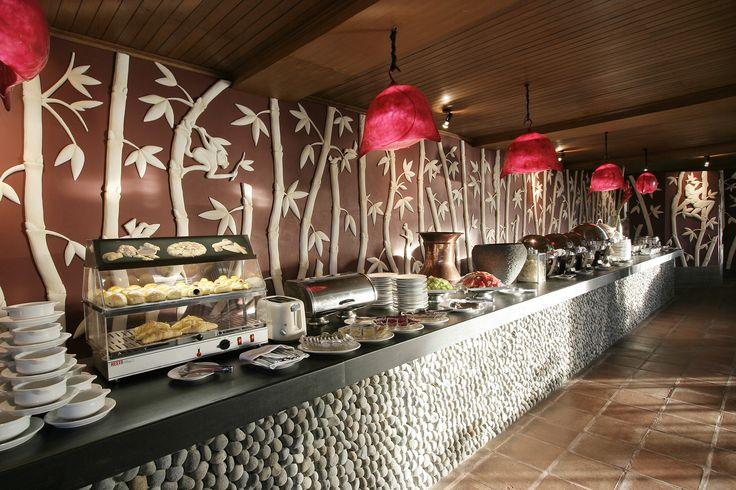 All Day Dinning Buffet Bamboo Terrrace Restaurant http://www.novushotels.com
