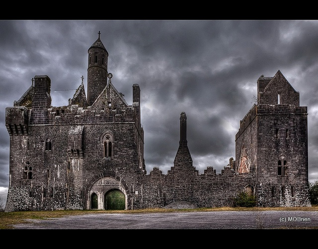 Dromore Castle at Twilight | Flickr - Photo Sharing!