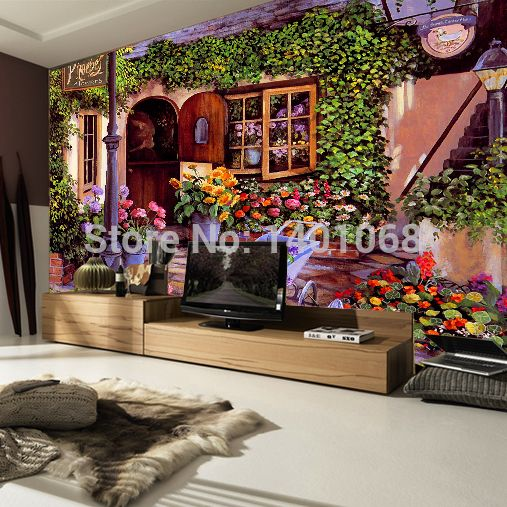 Find More Wallpapers Information about High quality Modern Luxury 3d wallpaper 3D wall mural papel de parede photo wall paper Natural flowers papel pintado,High Quality painting vinyl wallpaper,China wallpaper waterproof Suppliers, Cheap painting wallpaper from MSM Co.,Ltd on Aliexpress.com