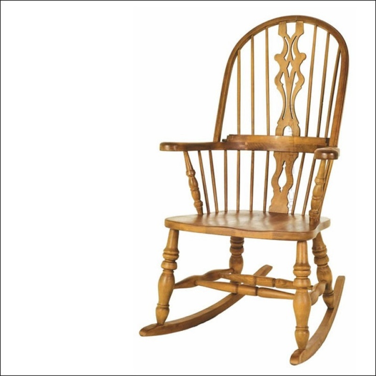 Solid Beech Hoop Rocking Chair - Rocking Chairs - Bedroom ...
