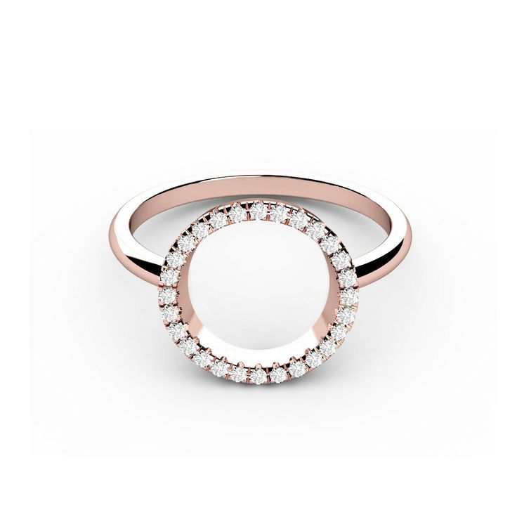The Circle of Life diamond ring will fit the finger of very contempary fashion loving lady.  It is a very elegant piece of jewerly, that will give the perfect sparkle to your hand thanks to its 28 diamonds. € 170.00