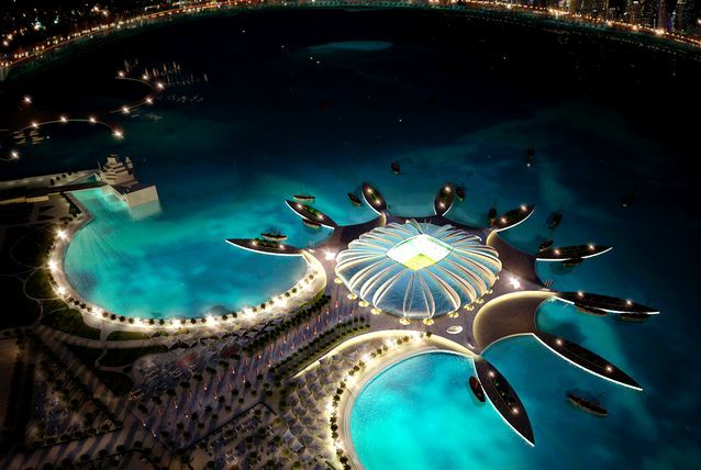 Qatar's 2022 World Cup stadia revealed. - via http://www.arabianbusiness.com/photos/qatar-s-2022-world-cup-stadia-revealed-201761.html?img=0