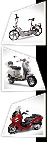 Mopeds, Gas and Electric Moped Scooter
