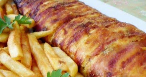 Csirkemell őzgerincformában sütve - családom nagy kedvence :)